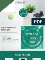 Evo Free Powerpoint