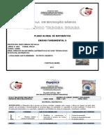 Plano Global 6º Ano- Matemática - Diego