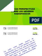 Perspectivas Sobre Los Generos Radiofonicos