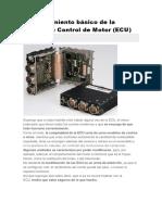 Funcionamiento de La ECU - 40 Paginas