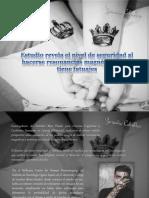 Zoraida Ceballos - Estudio revela el nivel de seguridad al hacerse resonancias magnéticas si se tiene tatuajes