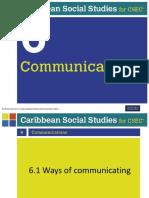 Recreation on Communication