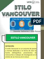 Clase 07. Estilo Vancouver