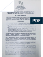 DECRETO 0151/ 2019 MEDIDAS DE CONVIVENCIA PARA LA PROTECCIÓN DE LAS FIESTAS DEL RÍO 2019.