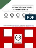 Material TEACCH Identificamos y Asociamos Emociones