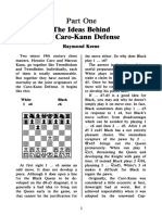 the Ideas Behind the Caro-Kann - Keene