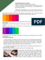 Mezcla de Colores Complementarios Frios y Calidos