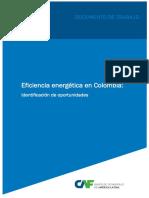 Eficiencia Energética en Colombia Identificacion de Oportunidades