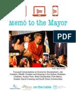 Memo to the Mayor-Final