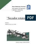 Secador Rotatorio Prac 1