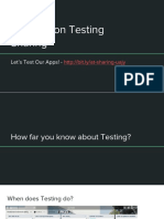 Automation Testing