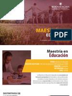 Brochure Maestria - Digital