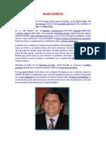Alan Garcia Biografia
