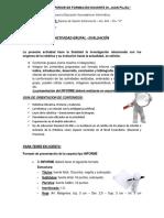Actividad Grupal Informe 2016