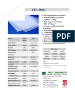 PFA Plain Sheet