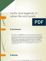 Myths and Legends Por Santiago Gaviria
