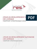 Rapport Stratégique IRES 2018 Version Française
