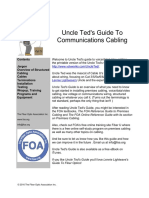 Uncle Ted's Guide To Communications Cabling