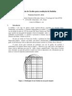 [Grafos ] Coloração de Grafos Para Resolução de Sudoku