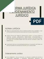 Normas Jurídicas y Jerarquía de La Norma