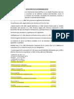 CASO PRÁCTICO N°1  CAMBIOS EN EL PATRIMONIO NETO