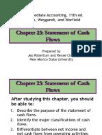 23 Statement of Cash Flows