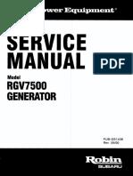 Service Manual Rgv7500