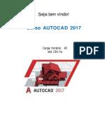 Apostila Curso Autocad 2017