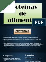 Proteinas Lacteas, Vegetales, Etc
