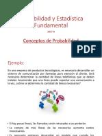 Conceptos básicos sobre probabilidad
