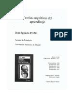 Teorias Cognitivas de Aprendizaje POZO Imprimir