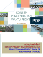 Pengendalian Waktu Proyek