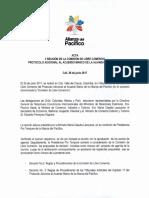 Acta de La II Reunion de La Comision de Libre Comercio Webmaster