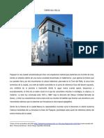 Valentina Castro. Texto Etnografico Torre Del Reloj
