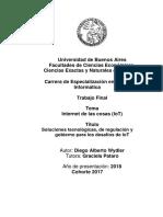 2018 - WYDLER - TFE Maestria Seguridad Infomatica UBA - En busca de confianza en IoT