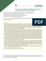 EC Cardiology- Copeptin as Early Marker of Acute Non-ST Elevation MI- Samir Rafla