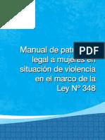 MANUAL DE PATROCINIO LEGAL A MUJERES EN SITUACIÓN DE VIOLENCIA