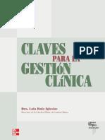 Claves Para La Gestión Clínica - Dra. Lola Ruiz Iglesias