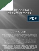 Aves de Corral y Carnes Frescas