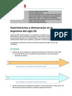 P6_CSO_Autoritarismos y Democracias en La Argentina Del Siglo XX
