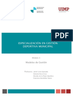 MODULO 4 La Reglementación de Los Servicios Deportivos Municipales