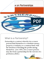 Review on Partnership