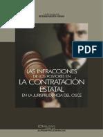 15 Las Infracciones de Los Postores en La Contratacion Estatal en La Jurisprudencia Del OSCE