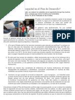 PM de La Equidad a La Inequidad en El Plan de Desarrollo
