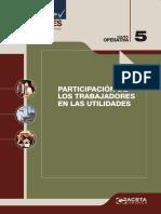 22 - Participacion de Los Trabajadores en Las Utilidades