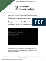 How to setup network after RHEL_CentOS 7 minimal installation _ LinTut.pdf
