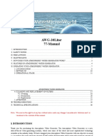 ZharBiz WaterMicronWorld AWG 77L Manual