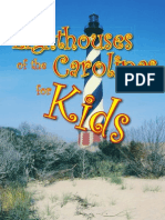 Lighthouses of the Carolinas for Kids by Terrance Zepke