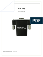 WiFi Plug User Manual JFY Platform