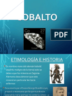 COBALTO diapositiva